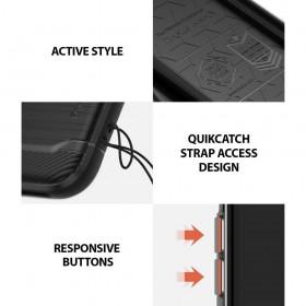 Opaska sportowa Fitbit Charge 2 rozmiar S Black-Silver