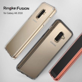 RINGKE FUSION GALAXY A8 2018 SMOKE BLACK