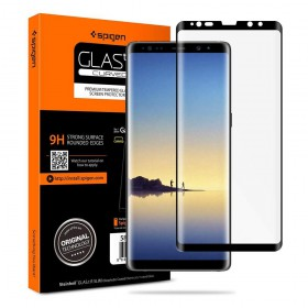 SZKŁO HARTOWANE SPIGEN GLAS.TR CASE FRIENDLY GALAXY NOTE 8 BLACK-130792