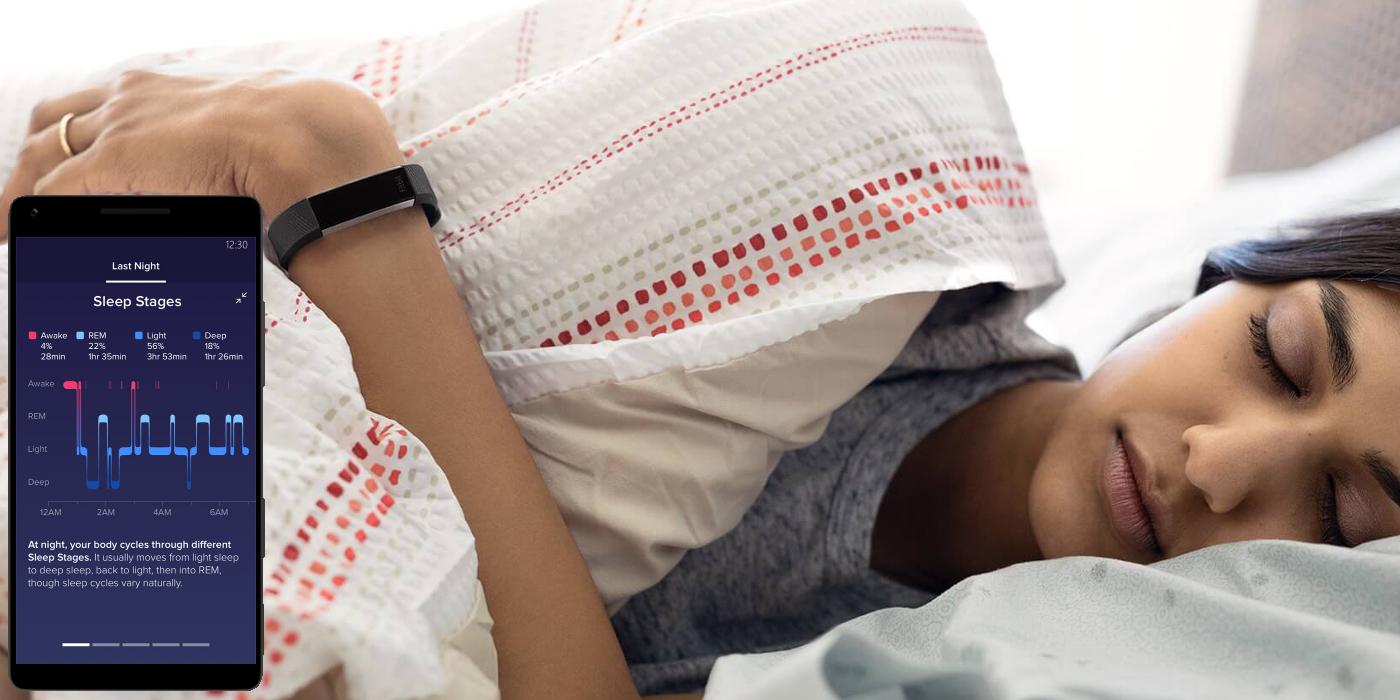 Fitbit Alta HR Monitoring snu