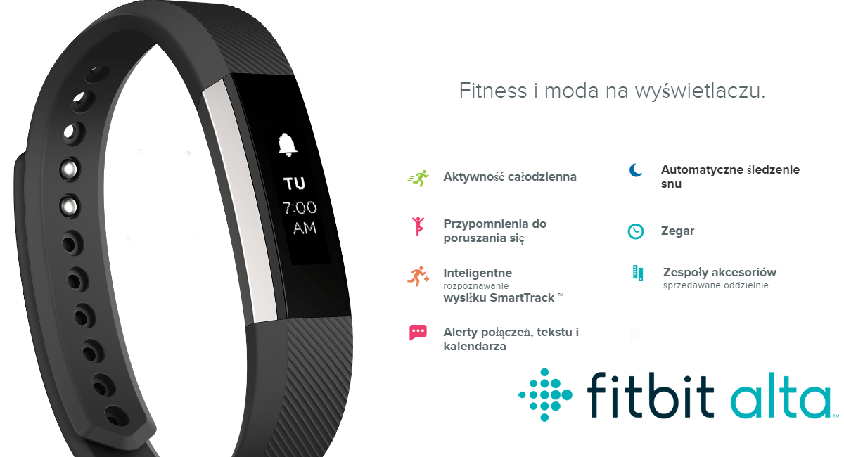 Opaska Sportowa Fitbit Alta Black