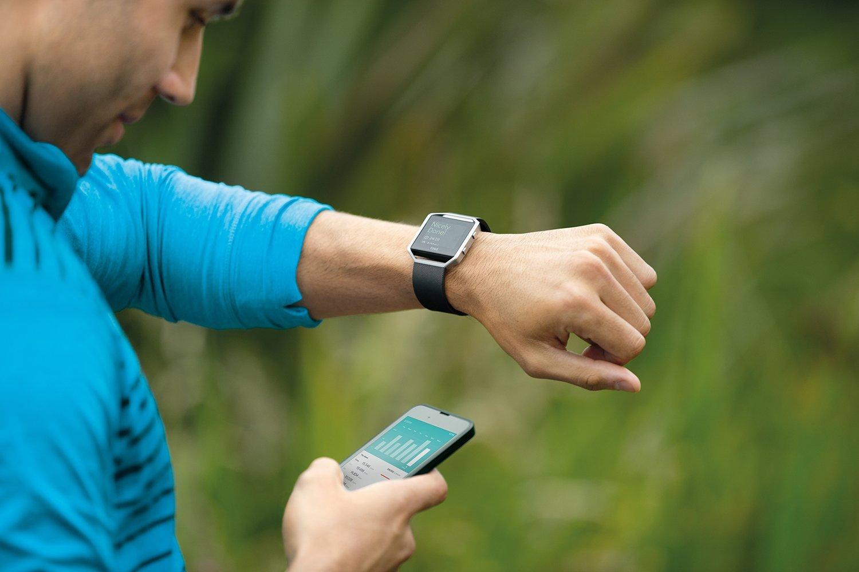 Fitbit blaze pulsometr pomiar wysokości pomiar tętna