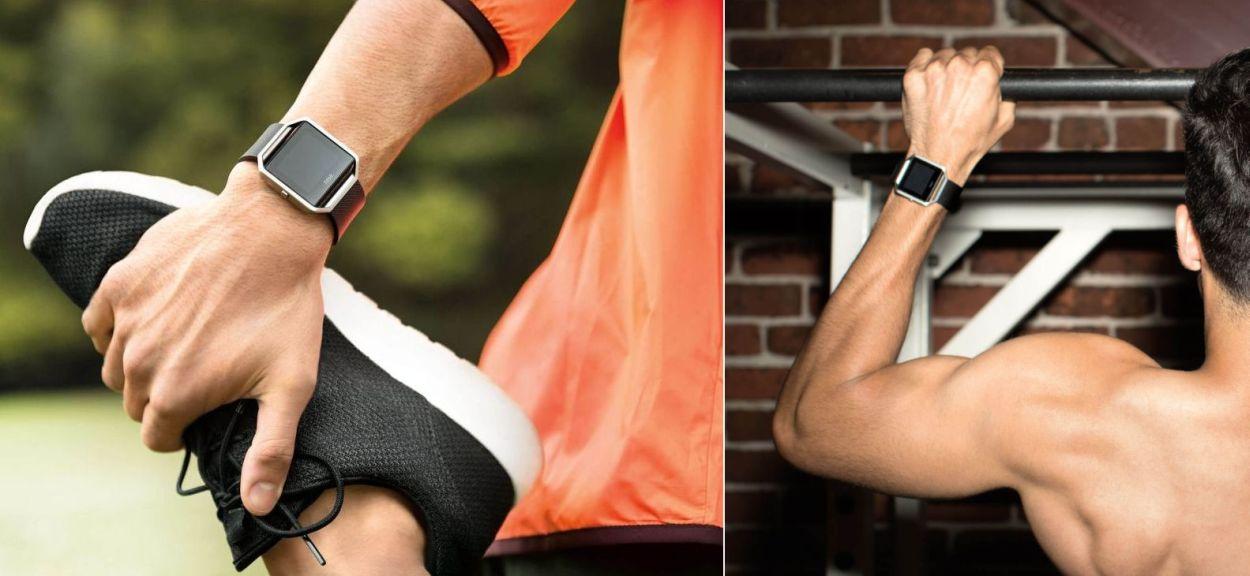 Zegarek sportowy fitbit blaze