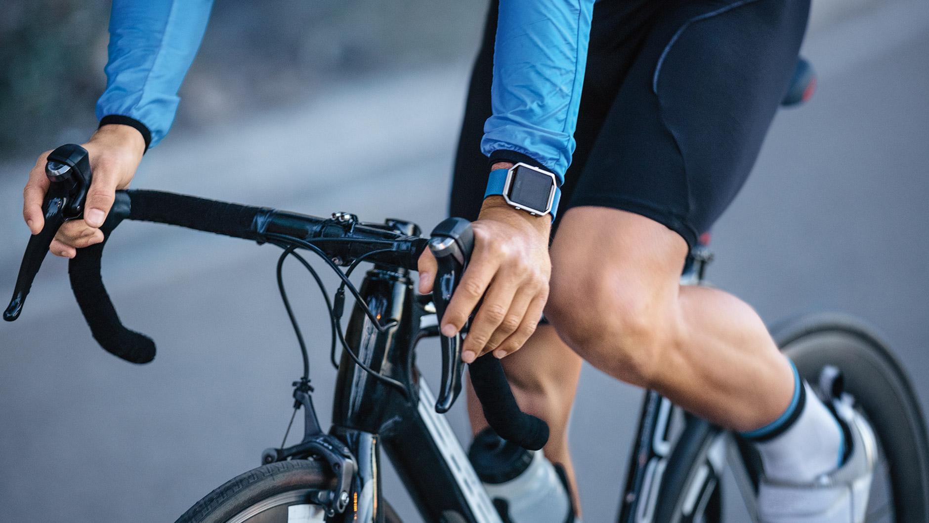 Inteligentny zegarek sportowy z dotykowym ekranem fitbit blaze