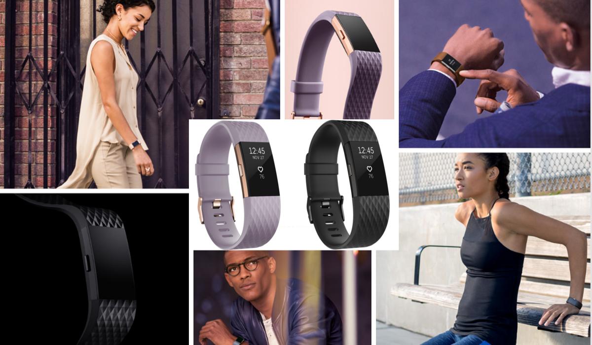 Fitbit Charge 2 wymienne akcesoria