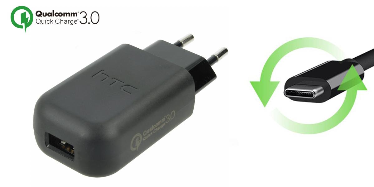 ładowarka HTC TC P5000 + kabel DC M7000