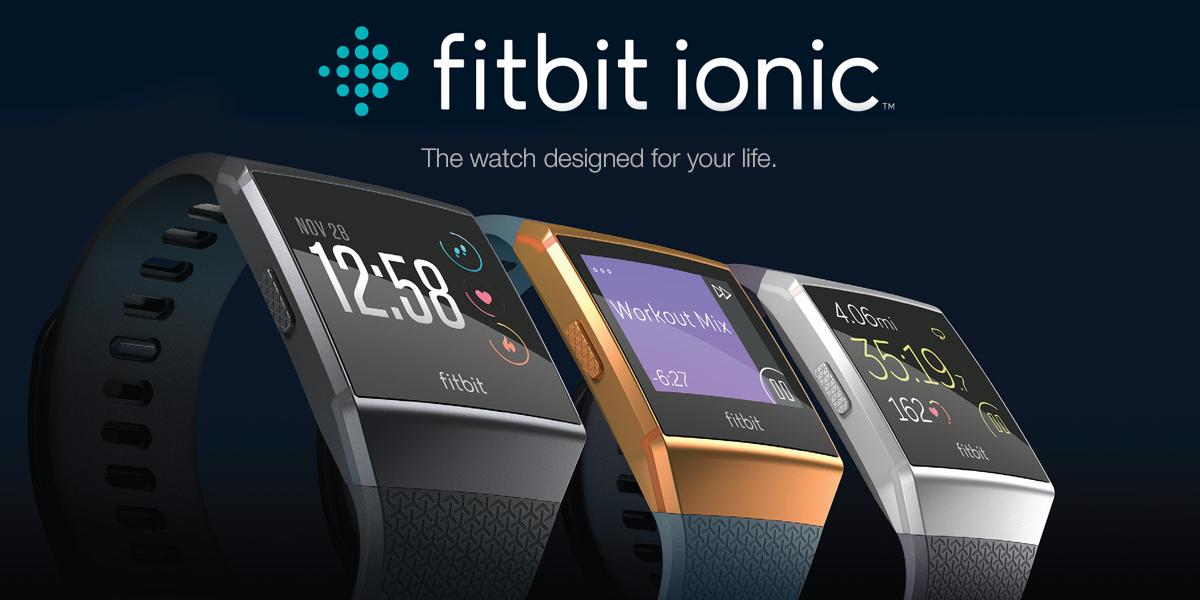 Zegarek sportowy fitbit ionic