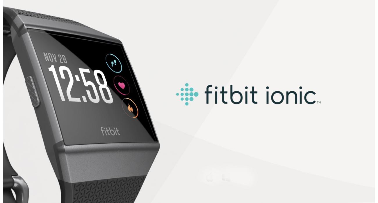 innowacyjny zegarek sportowy fitbit ionic rozmiar uniwersalny