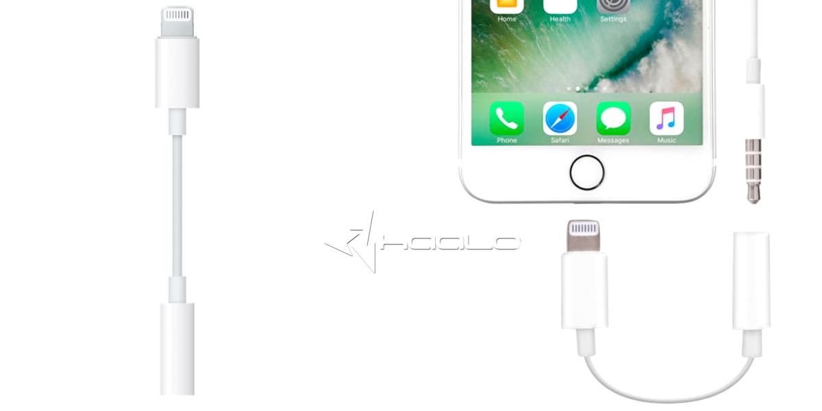 Adapter Apple MMX62AM/A Lightning na jack 3,5mm