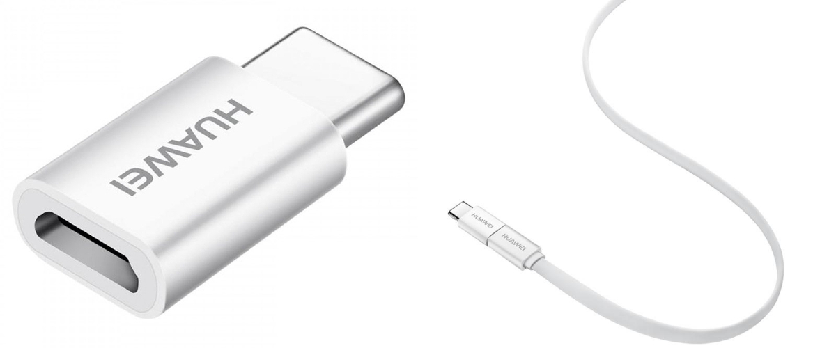 Oryginalny adapter Huawei AP 52 Micro USB na USB-C