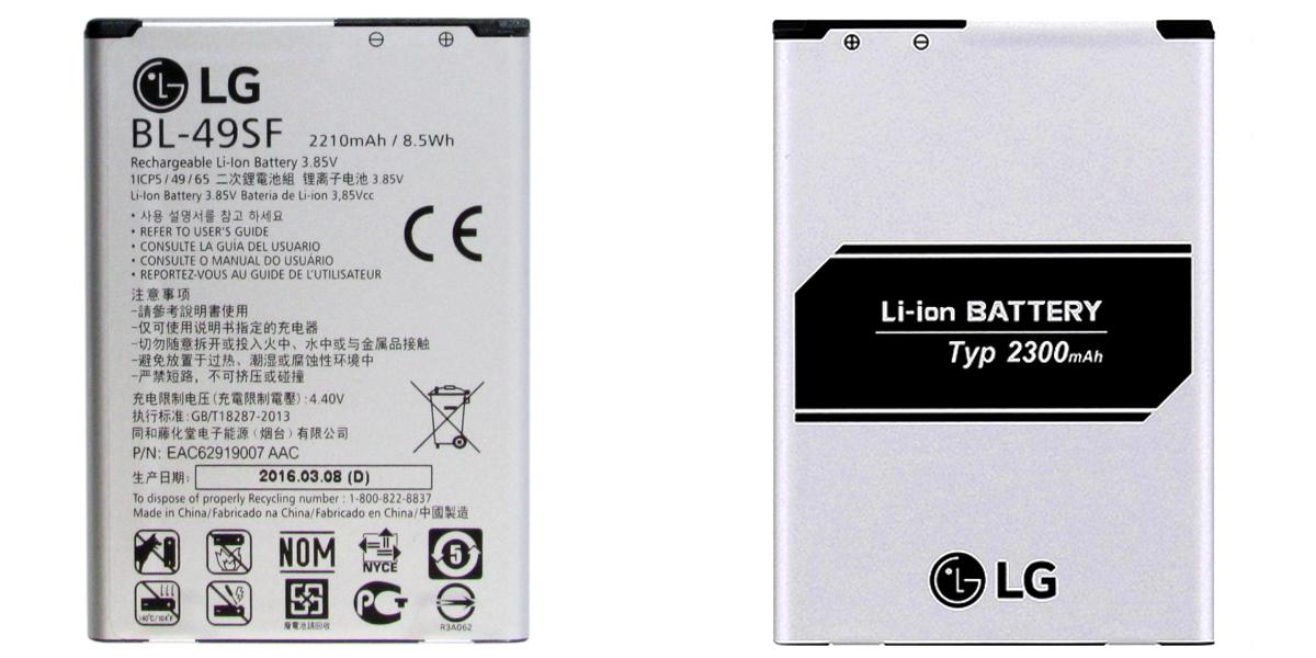 bateria LG G4s H735 H736 BL-49SF