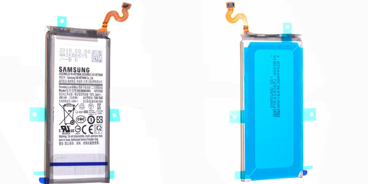 wymiana bateria w smartfonie Samsung Galaxy Note 9 N960