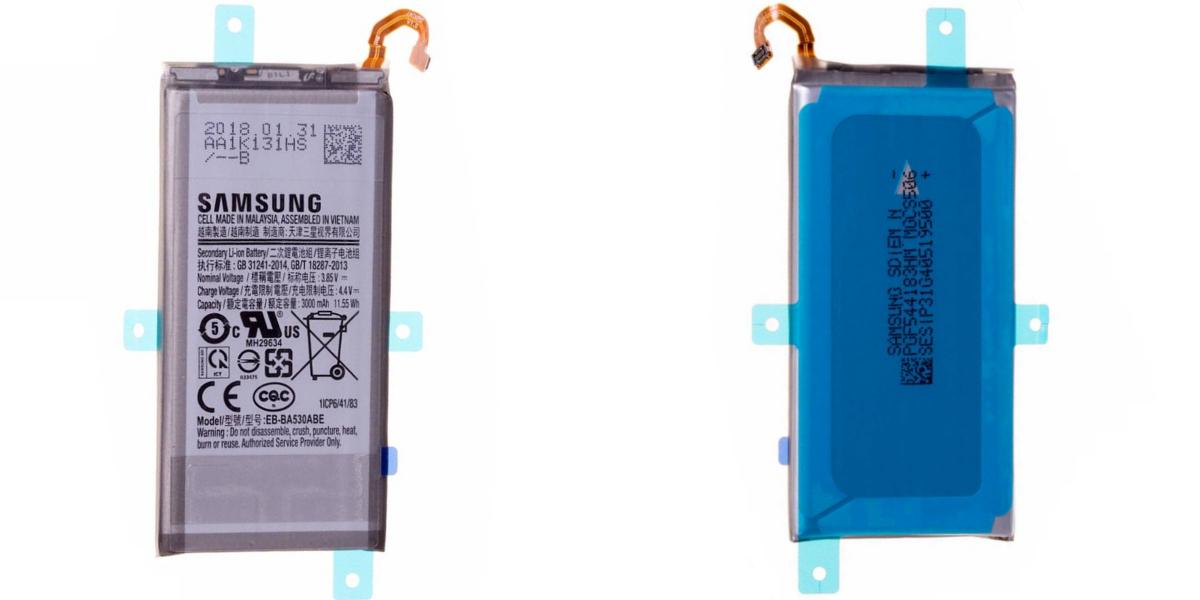 Wymiana baterii w Samsung Galaxy A8 2018 A530