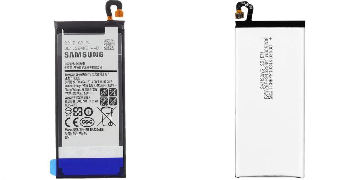 Wymiana baterii w Samsung Galaxy A5 A520 2017 EB-BA520ABE