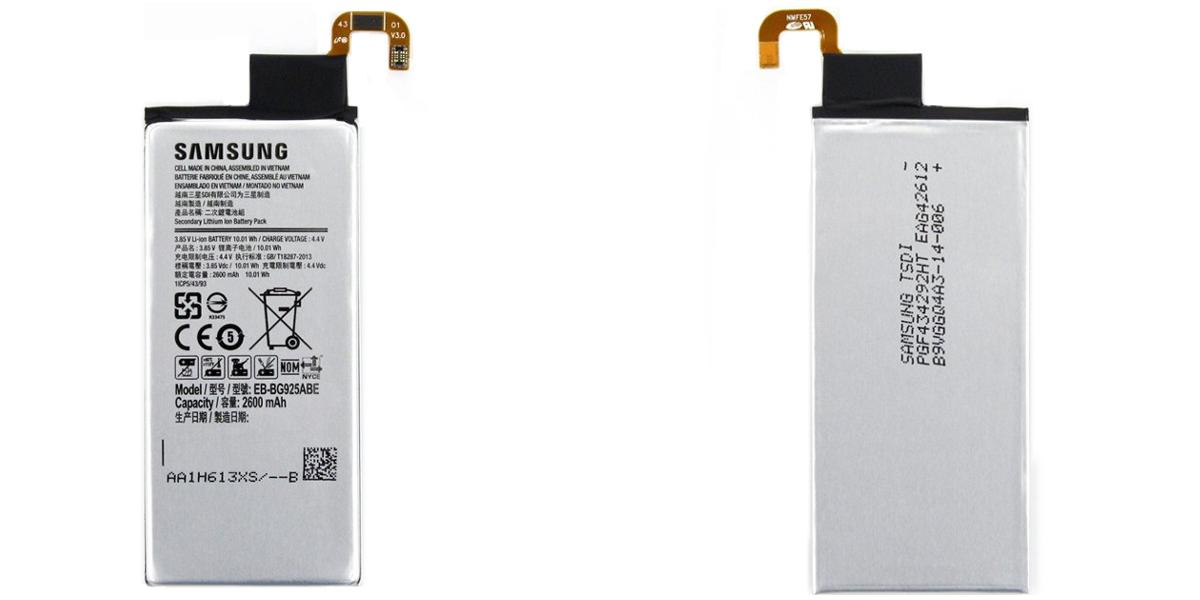 wymiana baterii w smartfonie Samsung Galaxy S6 Edge G925