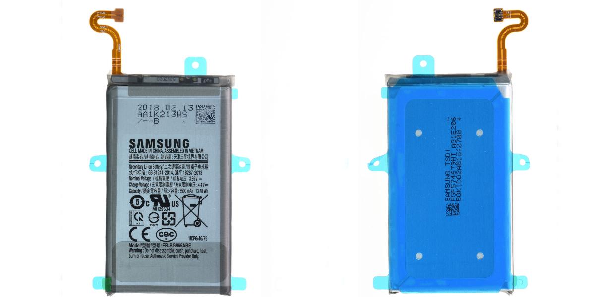 wymiany baterii w smartfonie Samsung Galaxy S9+ autoryzowany serwis samsung szczecin
