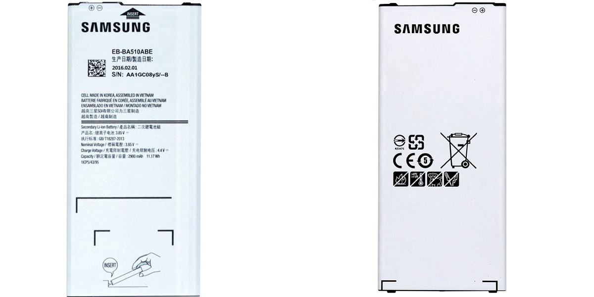Samsung a5 a510 wymiana baterii serwis samsung krzywoustego 22 szczecin