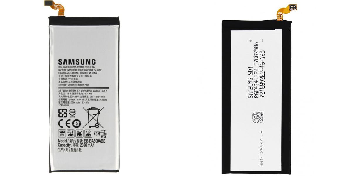 wymiany baterii w smartfonie Samsung Galaxy a5 2015