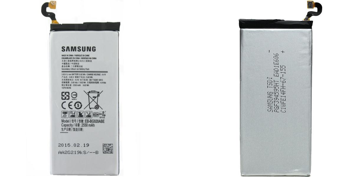 Wymiana baterii w Samsung Galaxy S6 G920