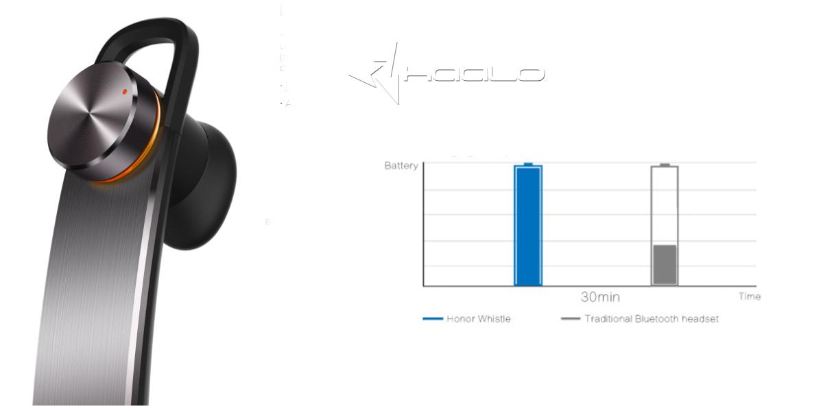 Huawei AM07 słuchawka bluetooth możliwość ładowania z telefonu komórkowego