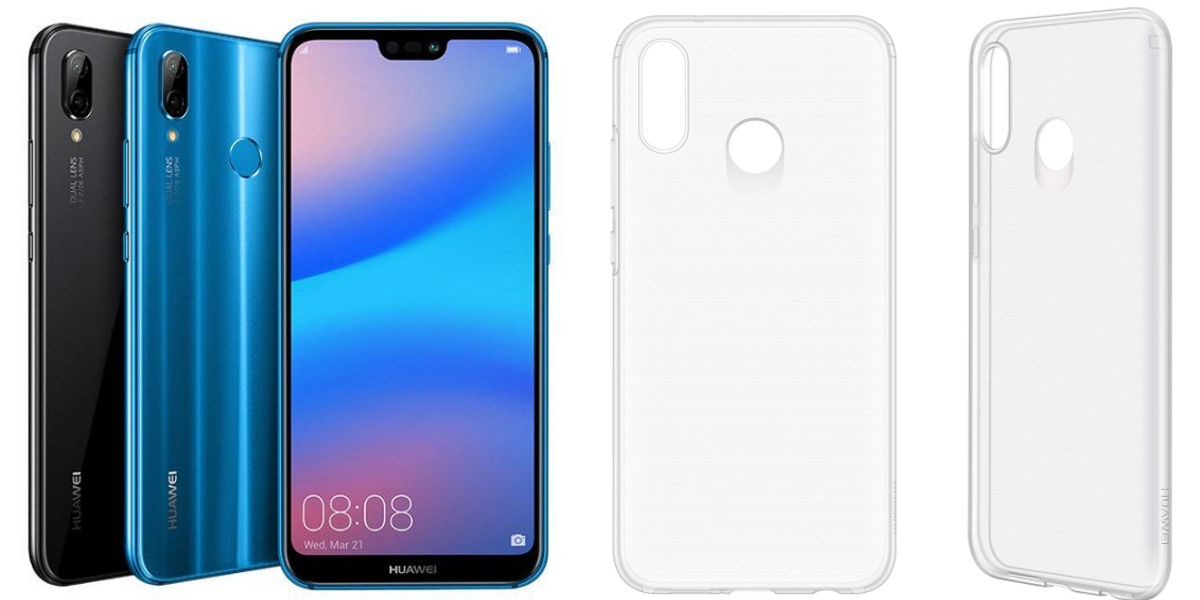 soft clear case do huawei p20 lite