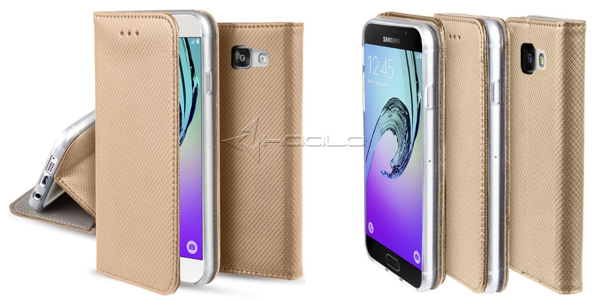 futerał magnetyczny z klapką do Samsung Galaxy A3 A310 2016