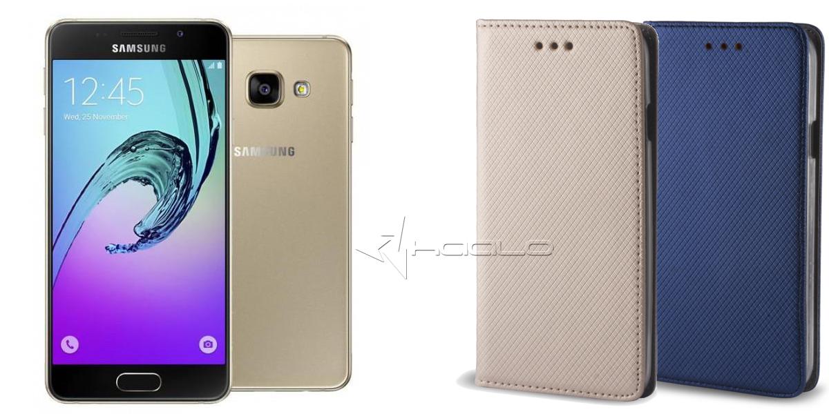 Futerał otwierany na bok do Samsung Galaxy A3 A310 2016