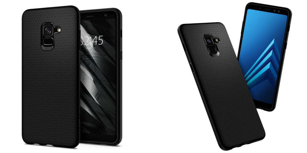 Wytrzymała nakładka Spigen Liquid Air do Samsung A8+