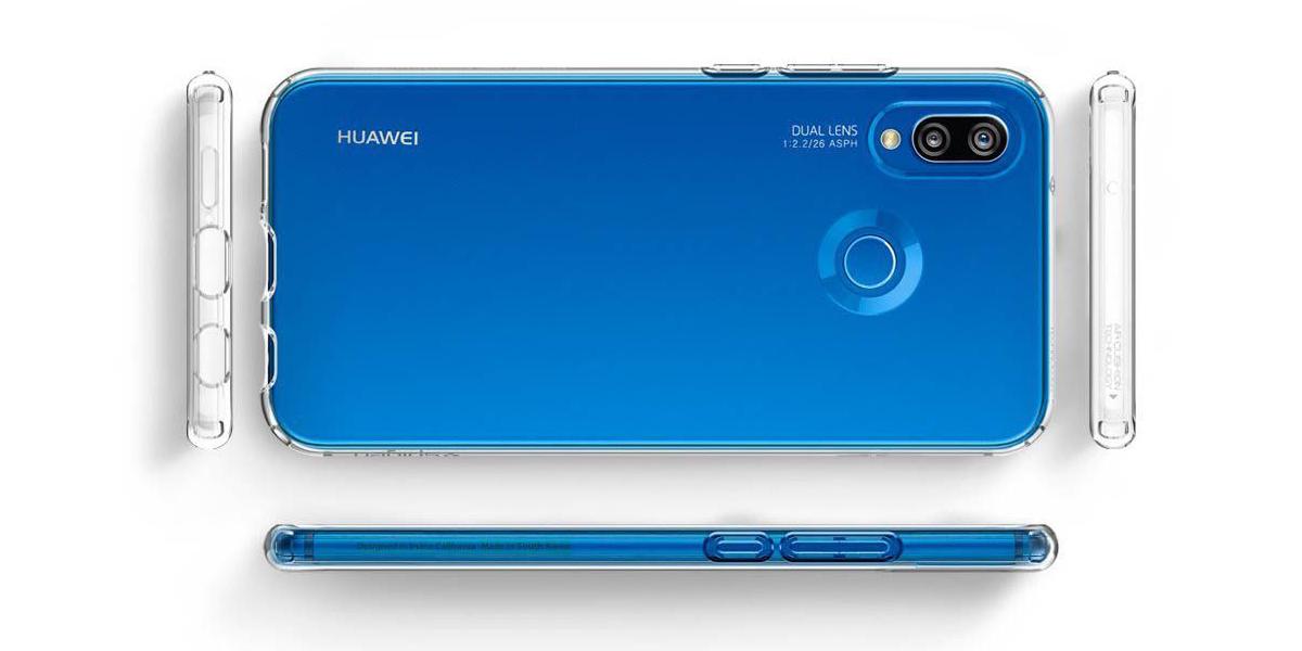 Wytrzymała nakładka Spigen Liquid Crystal do Huawei P20 Lite