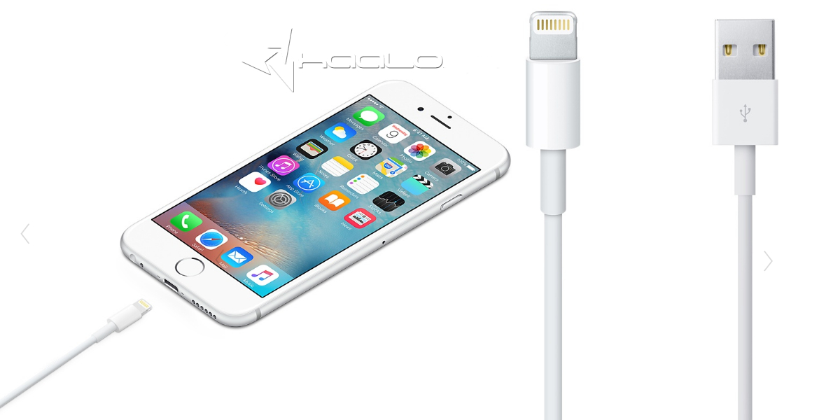 2-metrowy kabel USB do iPhone 5 5S 6 6S 7 Plus 8 X