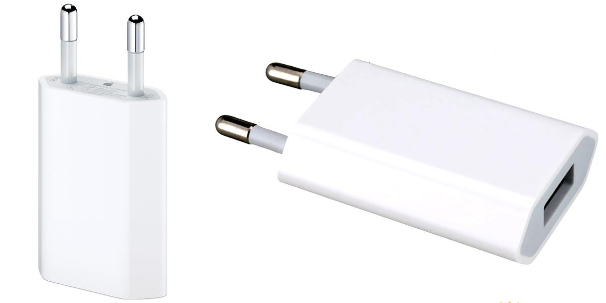 oryginalna ładowarka iphone usb power adapter 1a