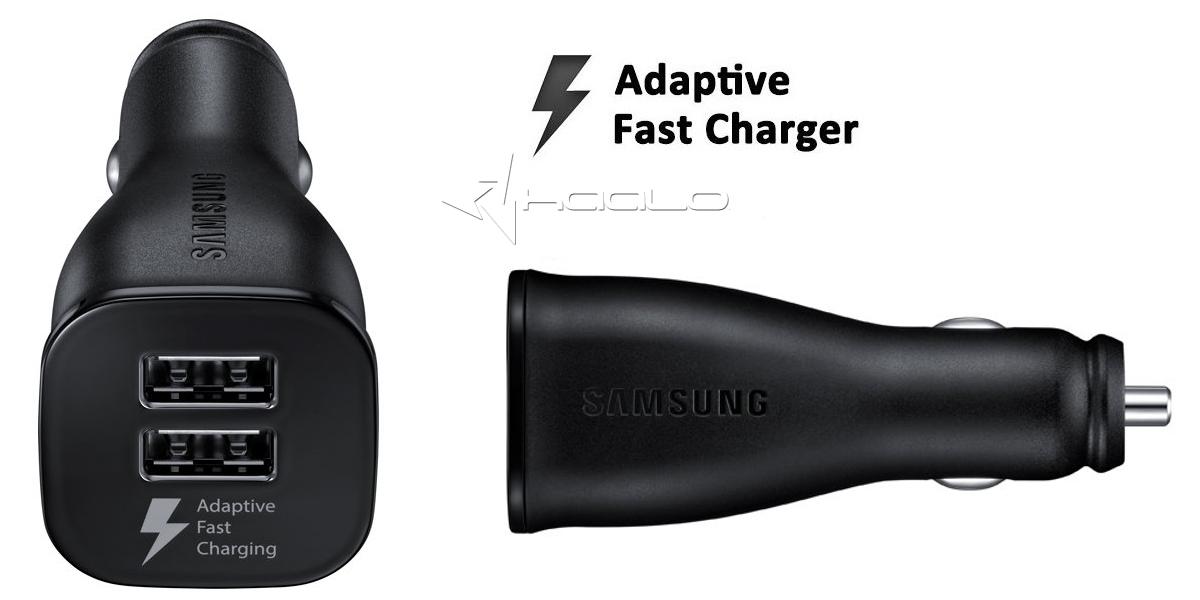 ładowarka samochodowa z dwoma gniazdami USB Samsung Fast Charger