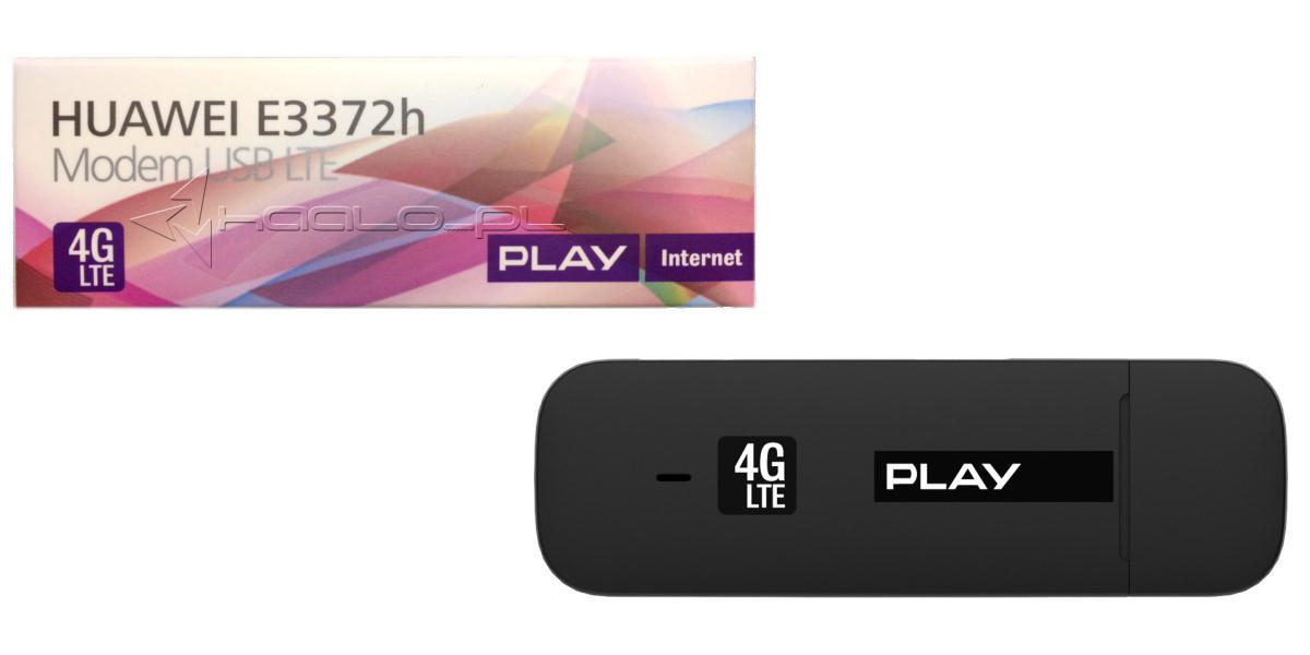 Nowy modem Huawei E3372h 4G LTE