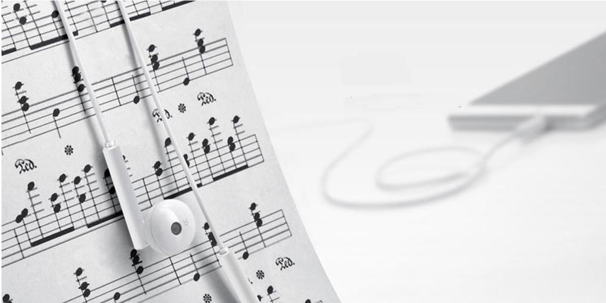 Oryginalne słuchawki stereo do Huawei