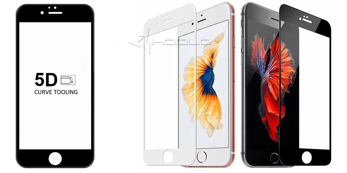 SZKŁO HARTOWANE FULL COVER GLASS na cały ekran do iphone 8 i do iphone 7