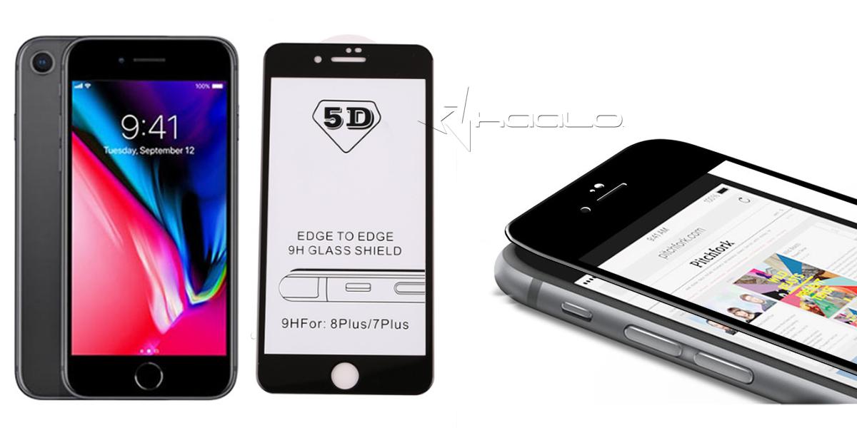 Najnowsze szkło hartowane iphone 8 PLUS na cały erkan