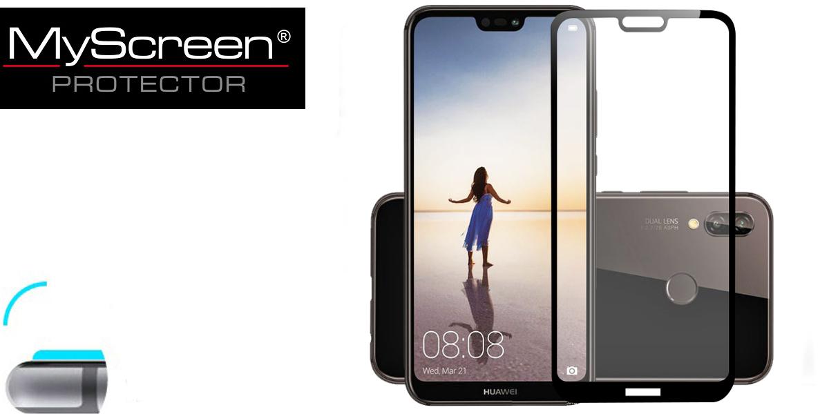 Huawei p20 lite szkło hartowane 3d