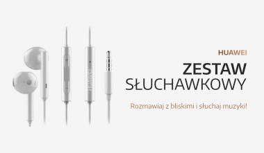 słuchawki z microfonem Huawei